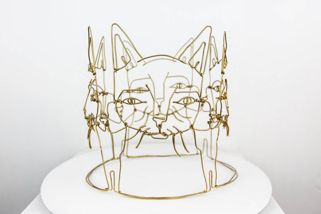 "Spenser Little ""Cat Crown """
