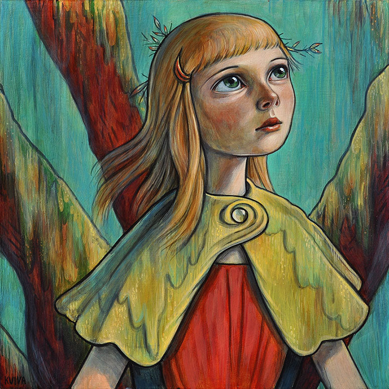 "Kelly Vivanco ""Moss Cloak"""