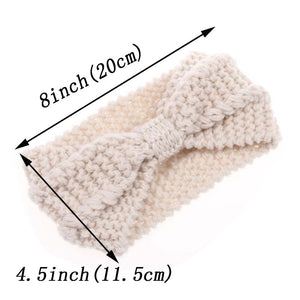 WINTER KNITTED HEADBAND