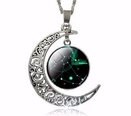 ZODIACS ART PENDANT NECKLACE