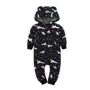 Hooded Warm Baby Romper (18 models)