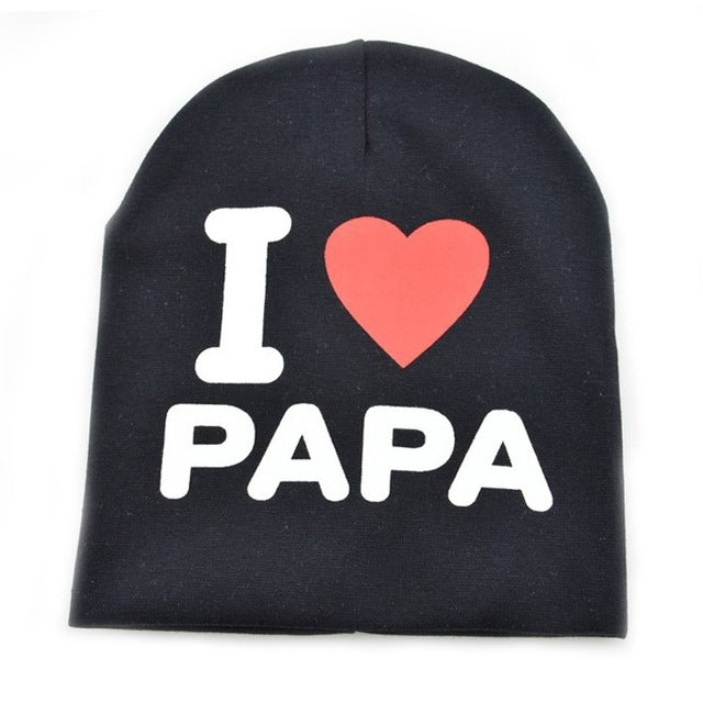 Baby Beanie Love Mom & Dad