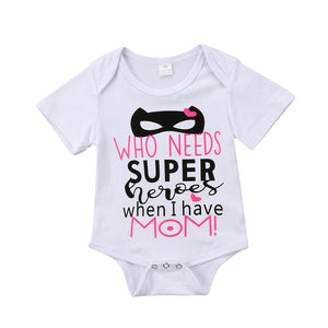 Mom Hero Romper
