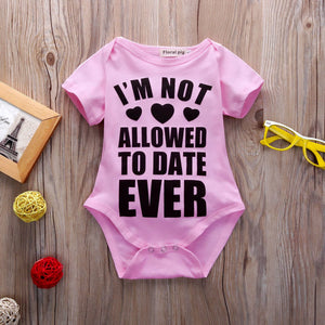 "Romper "" No Date Ever """