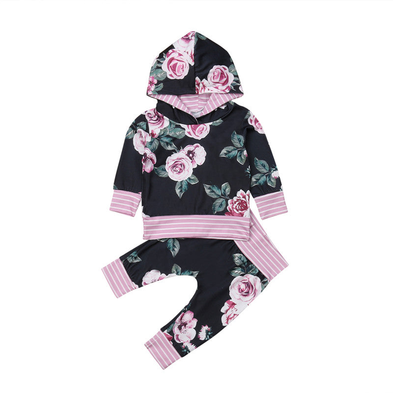 Hooded Rose Outfit
