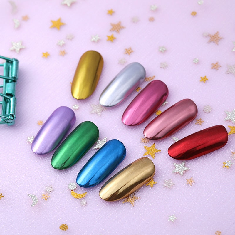 Holographic Mirror Nail Polish