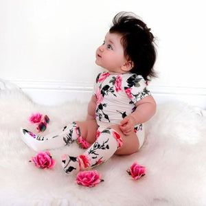 2Pcs Rose Outfit