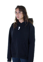 Hoodie on Woman Black