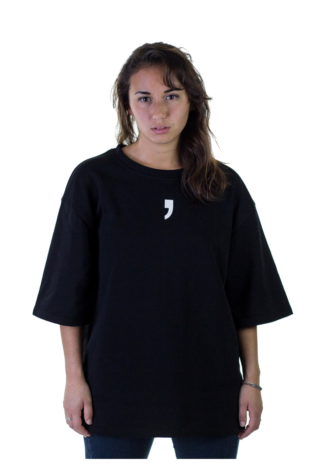T-shirt on Woman Black