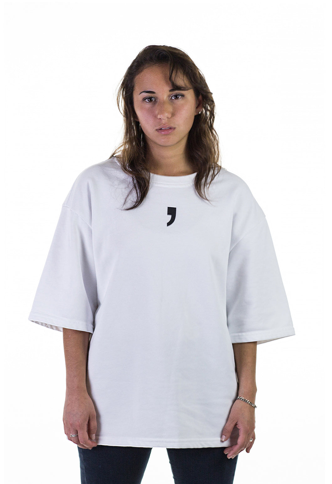 T-shirt on Woman White