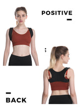 Posture Corrector for Women and Men KarmaRebirth Upper Back Brace with Back Magnet Shoulder Cushion Adjustable Clavicle Kyphosis Brace Improves Posture Relieve Lower Neck and Upper Back Pain