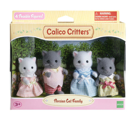 Persian Cat Family Calico Critters