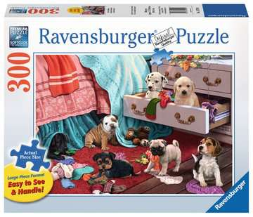 Mischief Makers 300 Piece Large Format Ravensburger