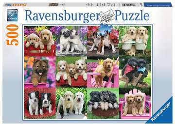 Puppy Pals 500 piece Ravensburger