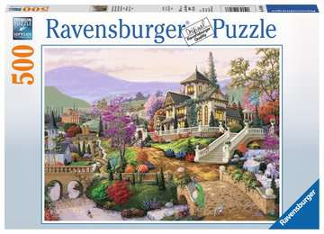 Hillside Retreat 500 piece Ravensburger