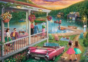 Summer At the Lake 300 Piece Large Format Ravensburger