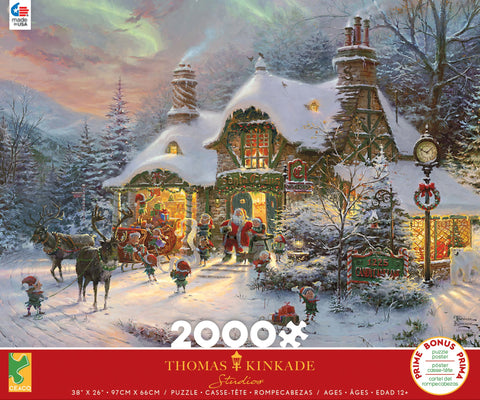 Santa's Night Before Christmas 2000 pcs
