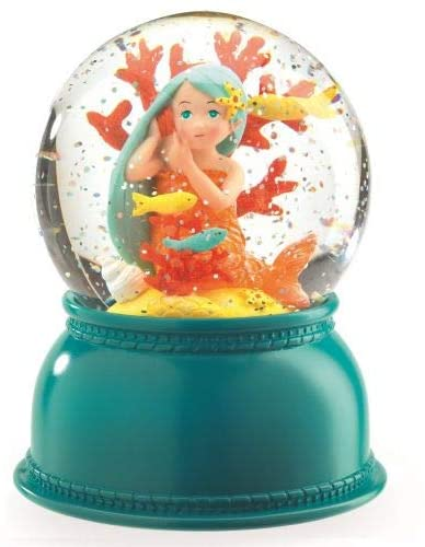 Mermaid Snowglobe Nightlight