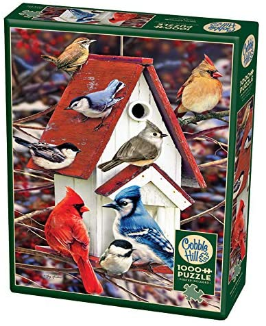 Winter Birdhouse 1000PC