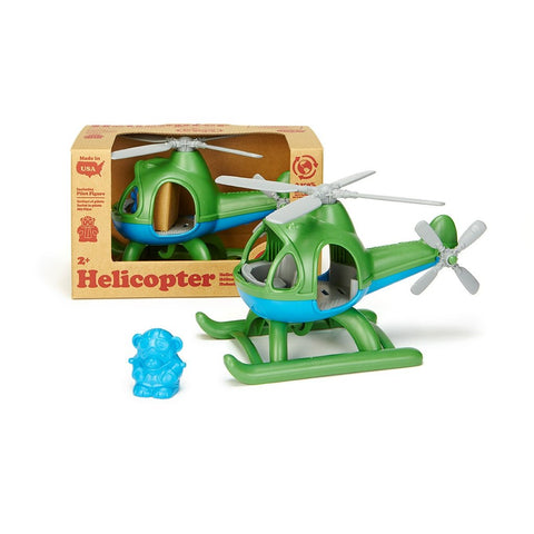 Helicopter Assorted Green Toy