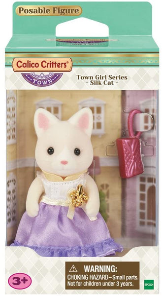 Town Girl Lulu Silk Cat Calico Critters