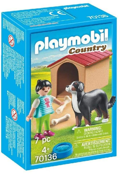 Dog wit Doghouse Playmobil
