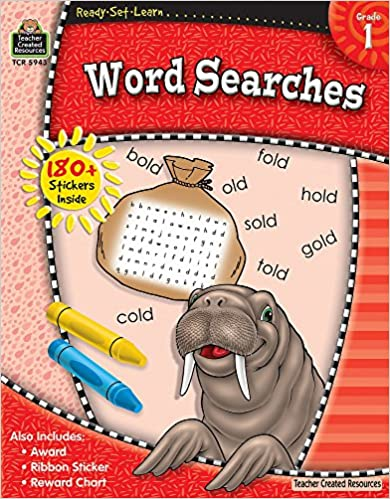 Word Searches Grade 1