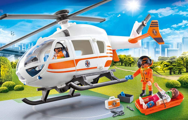 Rescue Helicopter Playmobil