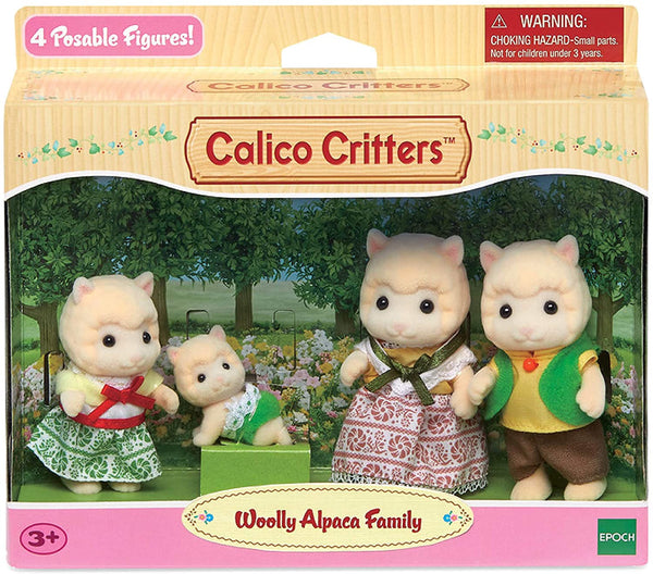 Woolly Alpaca Family Calico Critters