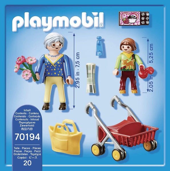 Grandmother with Child Playmobil