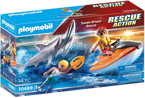 Shark Attack Rescue Playmobil