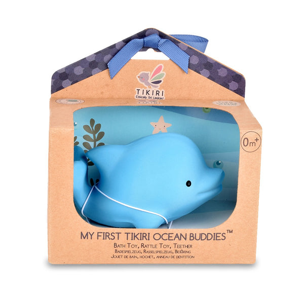 Dolphin Rubber Rattle