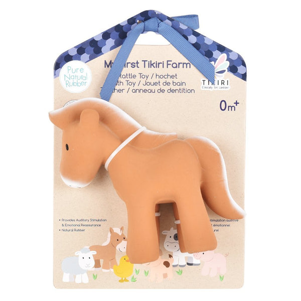 Horse Rubber Rattle