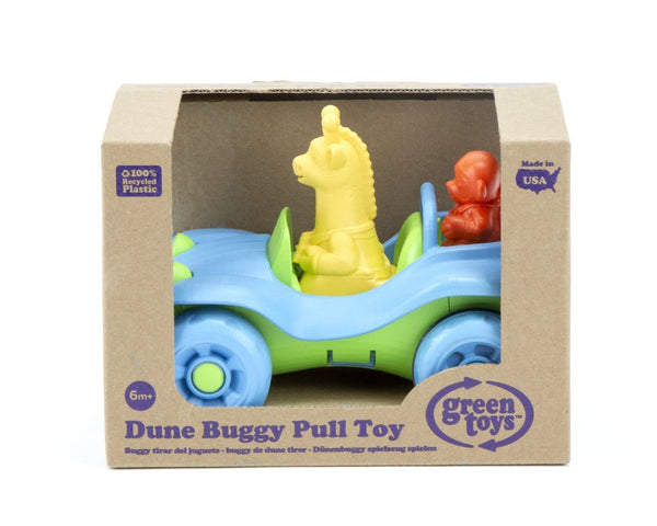 Dune Buggy Pull Toy Green Toy