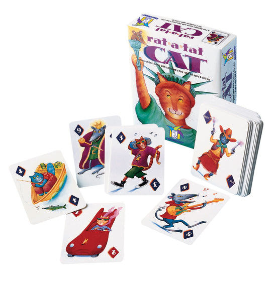 Rat a Tat Cat-Gamewright