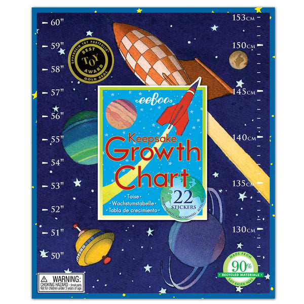 Outer Space Growth Chart