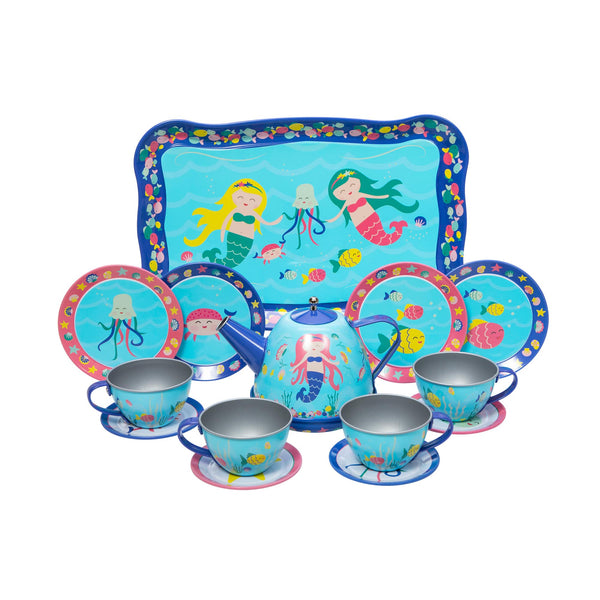 Mermaid Tea Set
