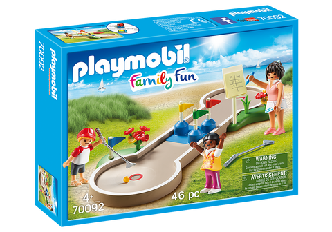 Mini Golf Playmobil