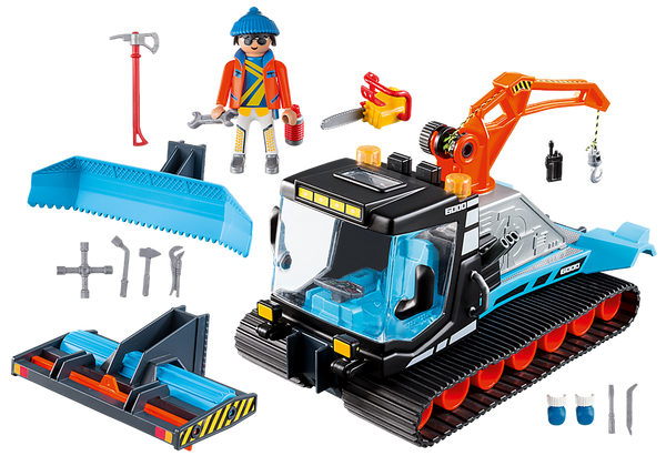 Snow Plow Playmobil