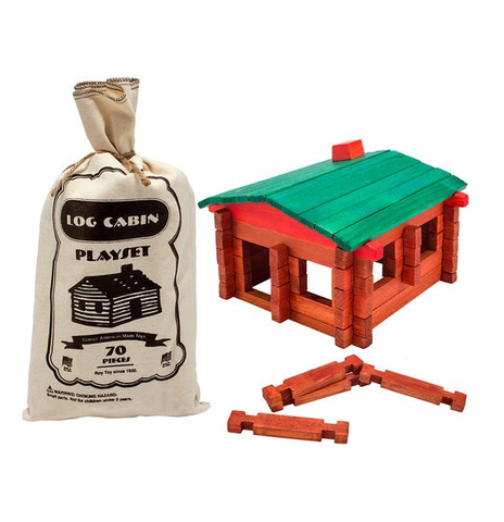 Log Cabin Platset