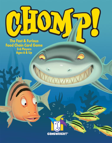 Chomp Card Game-Gamewright