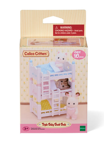 Triple Baby Bunk Beds Calico Critters