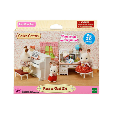 Piano & Desk Set Calico Critters
