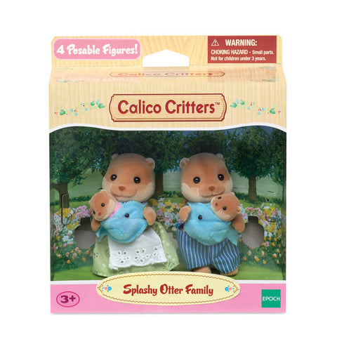 Splashy Otter Family Calico Critters