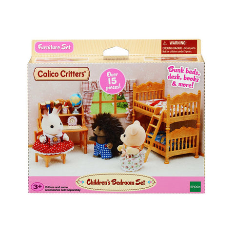 Children's Bedroom Set Calico Critters