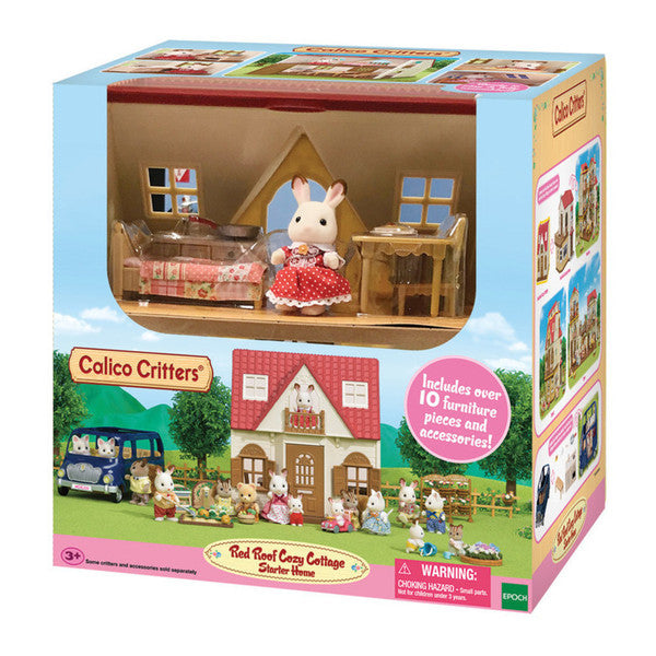 Red Roof Cozy Cottage Calico Critters