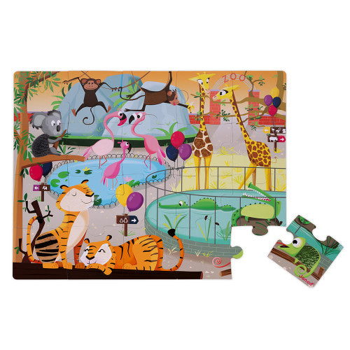 A Day at the Zoo Tactile Puzzle