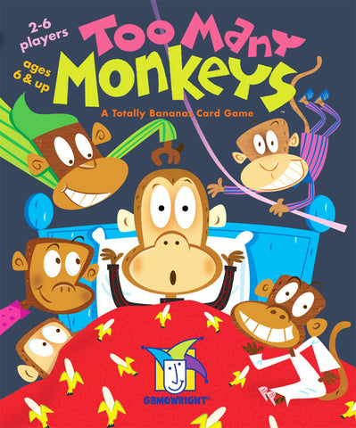 Too Many Monkeys Gamewright