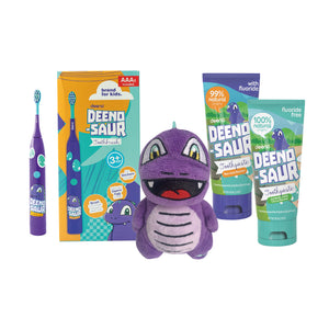 DEENO-SAUR Electric Box - Kids Oral Starter Kit 3+yrs