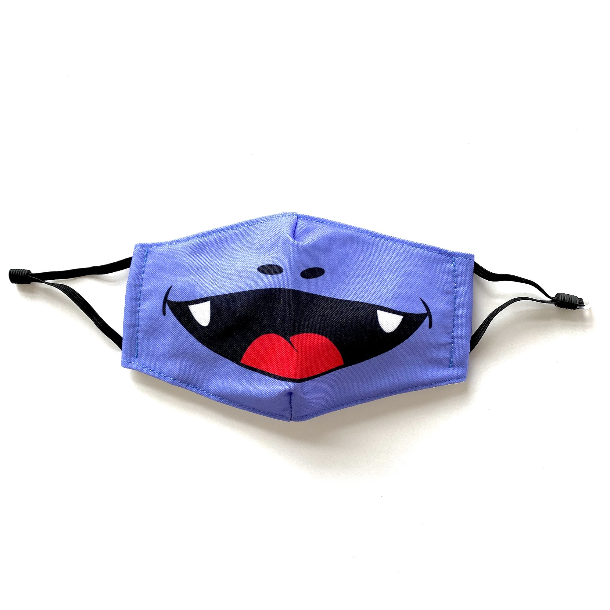 DEENO-SAUR Purple Character Face Mask for Kids 3+ years PM2.5 5-Layer Filter included